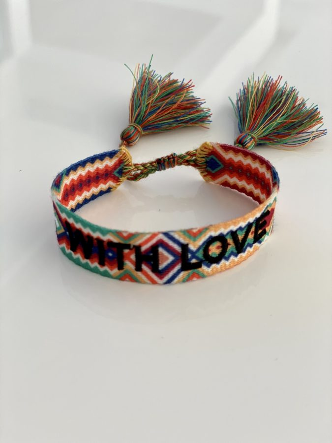 """With Love"" Multicolor"