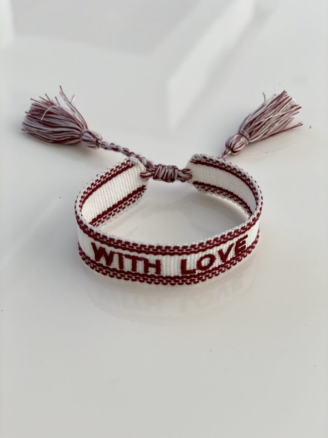 """""""With Love"""" White"""